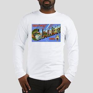 Columbus Ohio Greetings (Front) Long Sleeve T-Shir