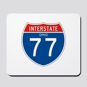 Interstate 77 - OH Mousepad