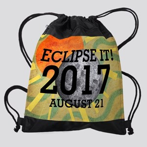 eclipse2017 Drawstring Bag