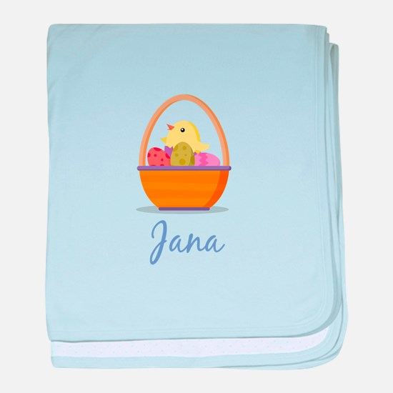 Easter Basket Jana baby blanket