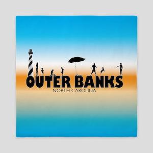 Outer Banks Family Fun Queen Duvet