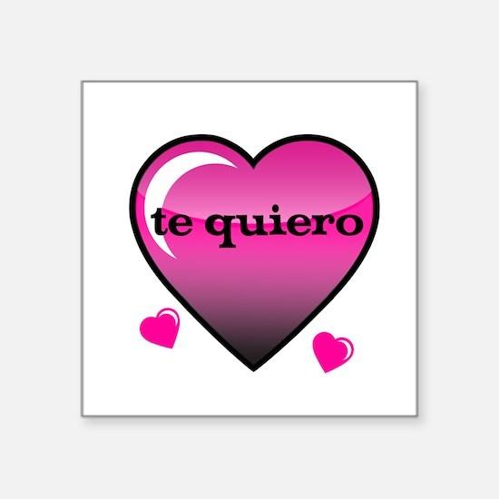 te quiero-I love you Sticker