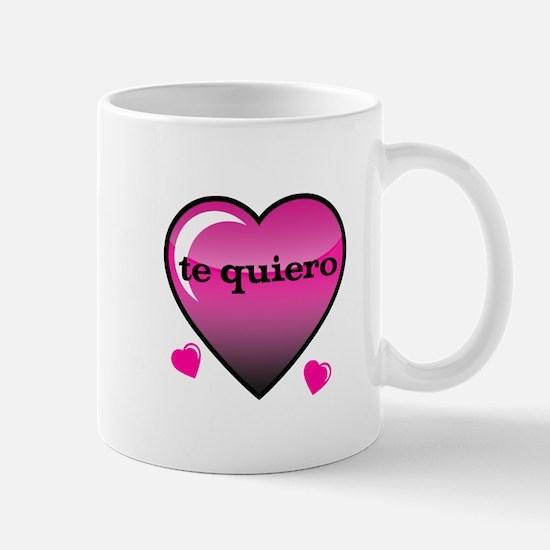 te quiero-I love you Mug
