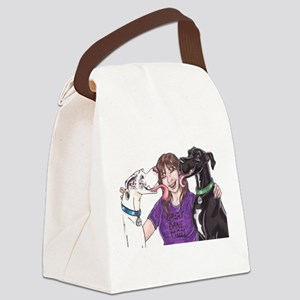 Lots of love Canvas Lunch Bag