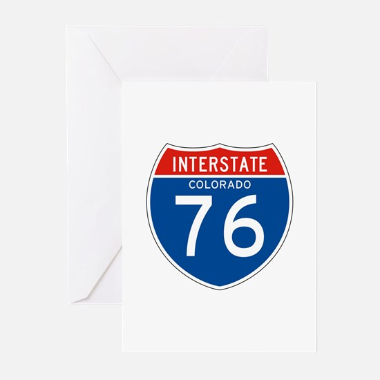Interstate 76 - CO Greeting Cards (Pk of 10)