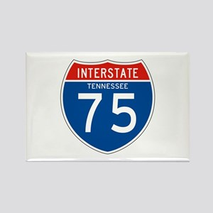 Interstate 75 - TN Rectangle Magnet
