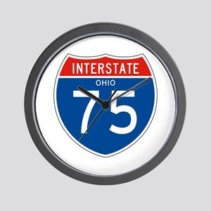 Interstate 75 - OH Wall Clock