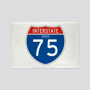 Interstate 75 - OH Rectangle Magnet