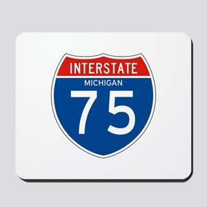 Interstate 75 - MI Mousepad