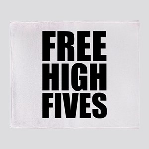 FREE HIGH FIVES Stadium Blanket