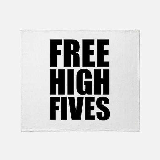 FREE HIGH FIVES Stadium Blanket
