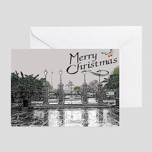 Jackson Square Woodcut Christmas Card (6)