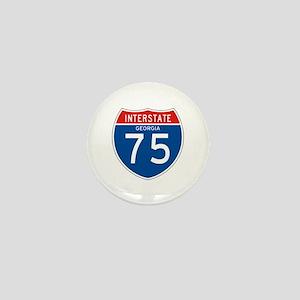 Interstate 75 - GA Mini Button