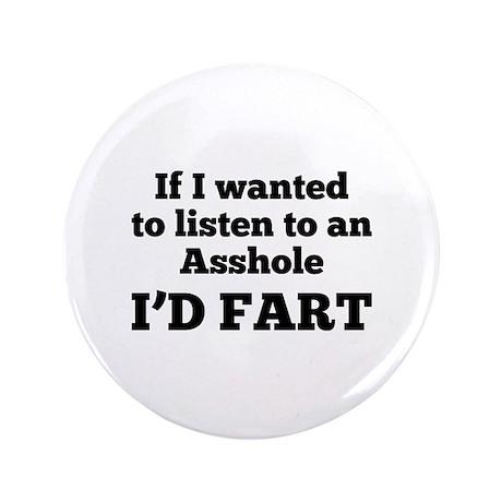 "I'd Fart 3.5"" Button (100 pack)"