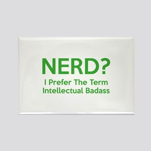 Nerd? Rectangle Magnet