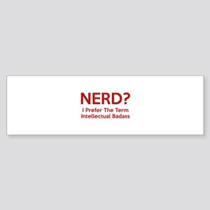 Nerd? Sticker (Bumper)