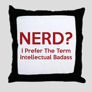 Nerd? Throw Pillow