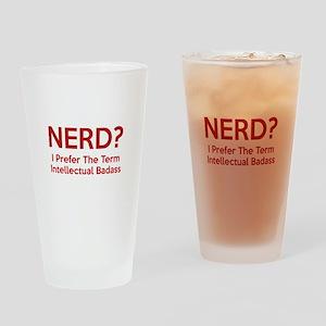 Nerd? Drinking Glass