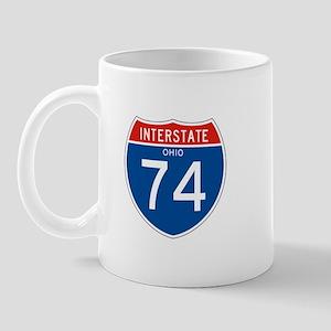 Interstate 74 - OH Mug