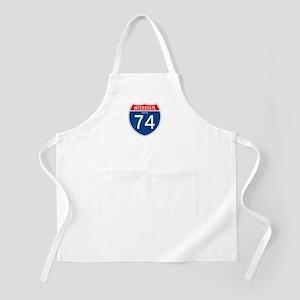 Interstate 74 - OH BBQ Apron