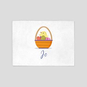 Easter Basket Jo 5'x7'Area Rug
