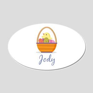 Easter Basket Jody Wall Decal