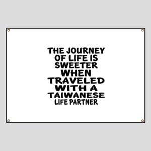 Traveled With Taiwanese Life Partner Banner