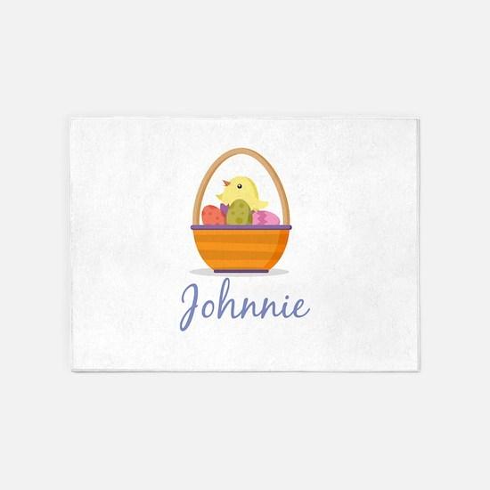 Easter Basket Johnnie 5'x7'Area Rug