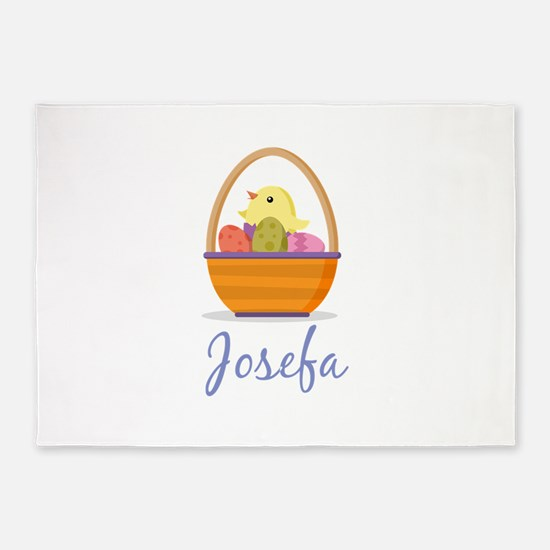 Easter Basket Josefa 5'x7'Area Rug