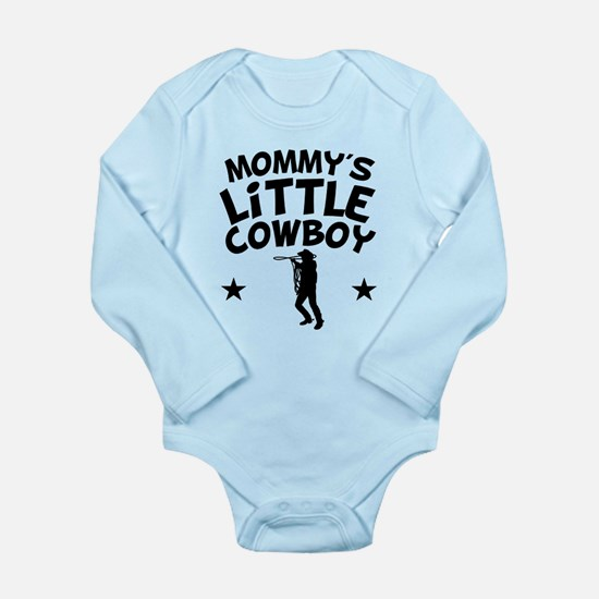 Mommys Little Cowboy Body Suit