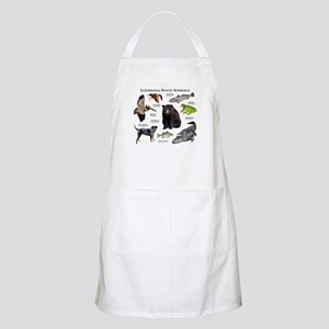 Louisiana State Animals Apron