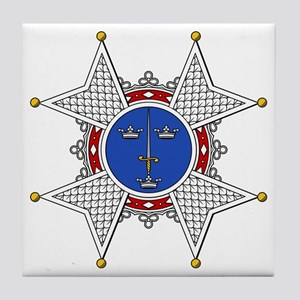 Royal Swedish Order of the Sw Tile Coaster