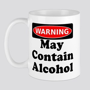 May Contain Alcohol Warning Mug