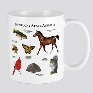 Kentucky State Animals Mug