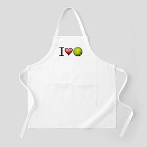 I heart tennis Apron