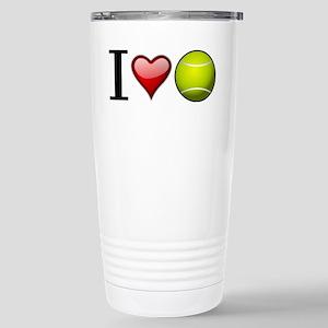 I heart tennis Travel Mug