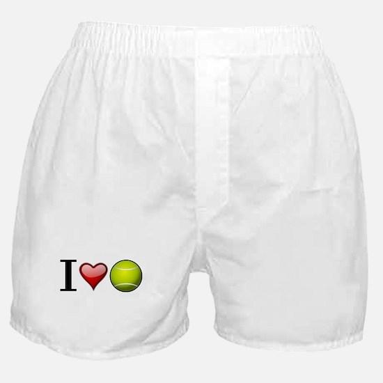I heart tennis Boxer Shorts