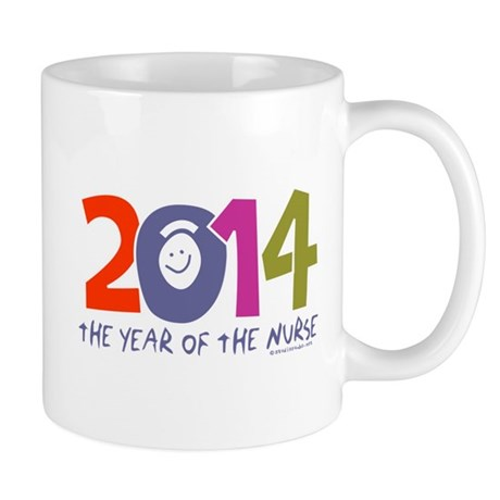 2014 Year of the Nurse Mug