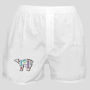 POLAR BEAR MOLA DESIGN Boxer Shorts