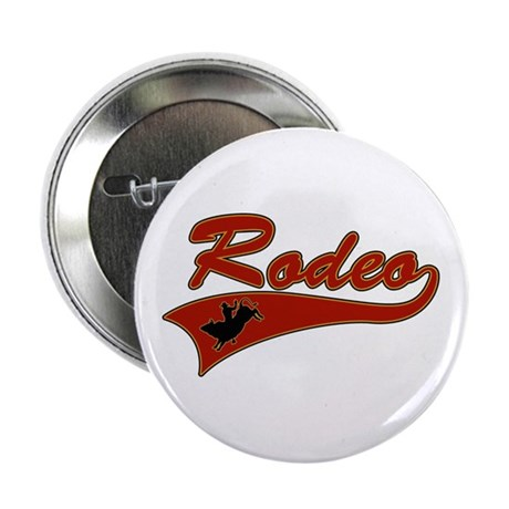 Rodeo Bull Rider Button