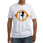 Support Working Moms Fitted T-Shirt