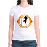 Support Working Moms Jr. Ringer T-Shirt