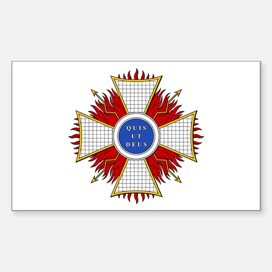 Order of St. Michael (Bavaria Sticker (Rectangular