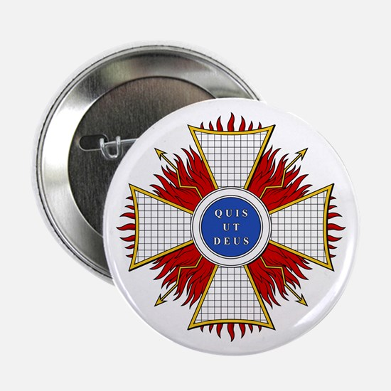 """Order of St. Michael (Bavaria 2.25"""" Button (10 pac"""