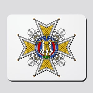 Order of St. Louis (France) Mousepad