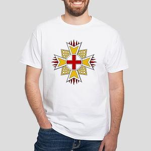 Order of St. George (Bavaria) White T-Shirt