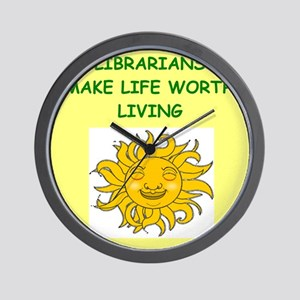 library Wall Clock