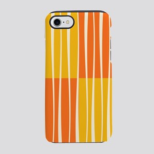 Abstract Summer swirls iPhone 7 Tough Case