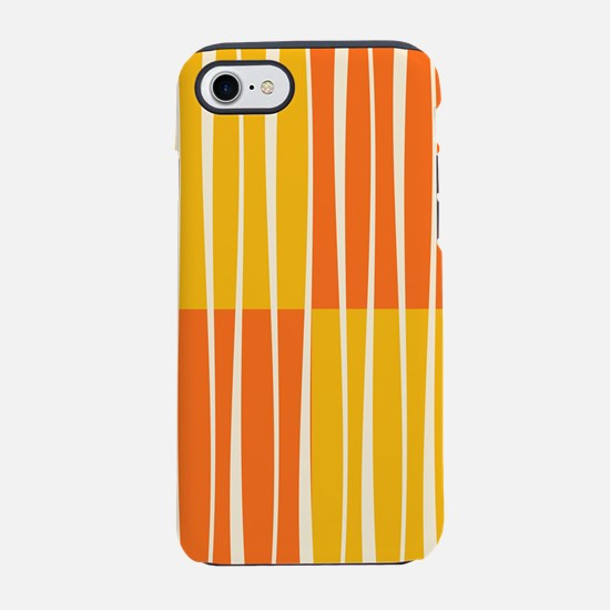 Abstract Summer swirls iPhone 7 Tough Case