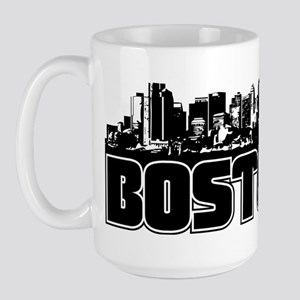 Boston Skyline Large Mug